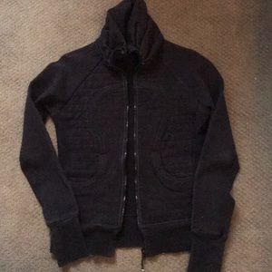 Lululemon zip fleece jacket